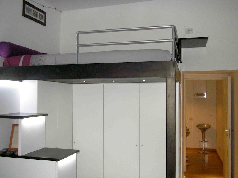 Cabina Armadio Letto A Soppalco : Appartamento via sottocorno milano